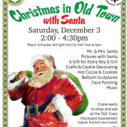 Christmas in Old Town Florissant on Saturday, December 3