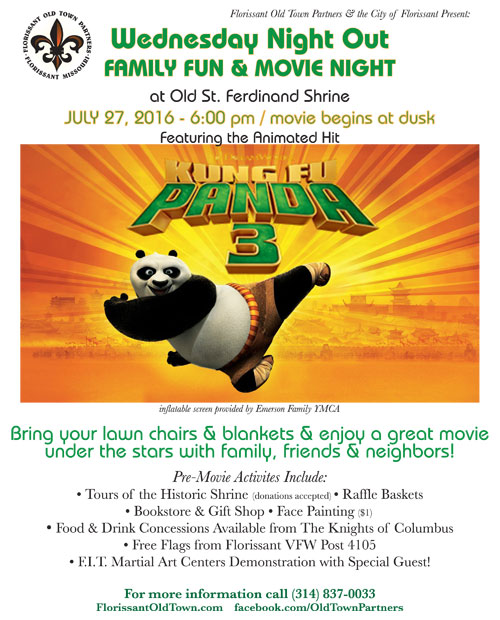 Family Fun Movie Night Flyer 2016