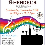 Wednesday Night Out at Hendel's on September 28