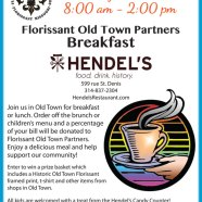 Breakfast at Hendels on Sunday, March 6