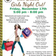 Deer Widows Girls Night Out on Fri. Nov. 17