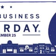 Small Business Saturday – November 25