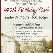 Narrow Gauge Railroad Florissant Station 140th Birthday Bash – Oct. 7