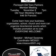 FOTP Member Meeting – Nov. 6