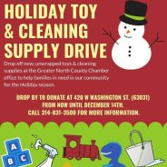 Holiday Toy & Cleaning Supply Drive