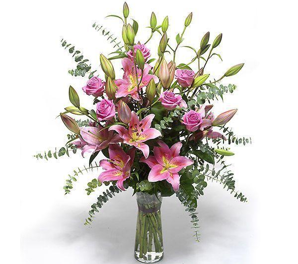ramo-de-rosas-y-lilium-rosas