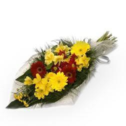 ramo-funerario-de-gerberas-y-crisantemos-amarillos-y-granates