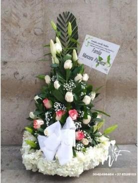 MUNDO DE FLORES Fúnebre F005
