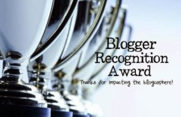Blgger Recognition Award