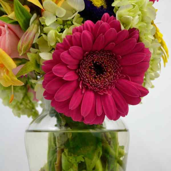 Jarrón de Flores del corazón para Arreglos florales Tijuana - Florerias en Tijuana