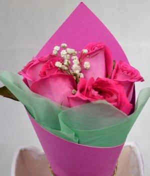 Bouquet de rosas rosas para Arreglos florales Tijuana - Florerias en Tijuana