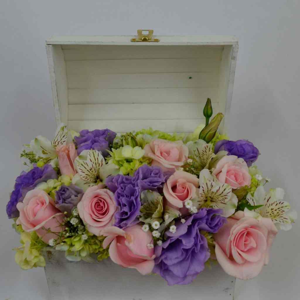 Caja de rosas, Envía flores a domicilio en Tijuana, Florerías en Tijuana