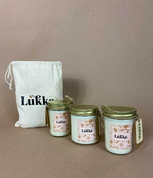 Fruity pack - velas aromáticas de soya