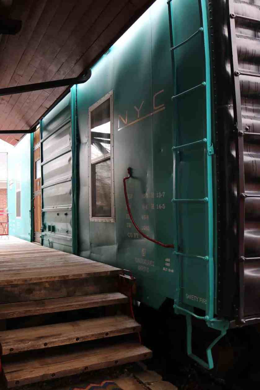 Renovated New York Central Boxcar