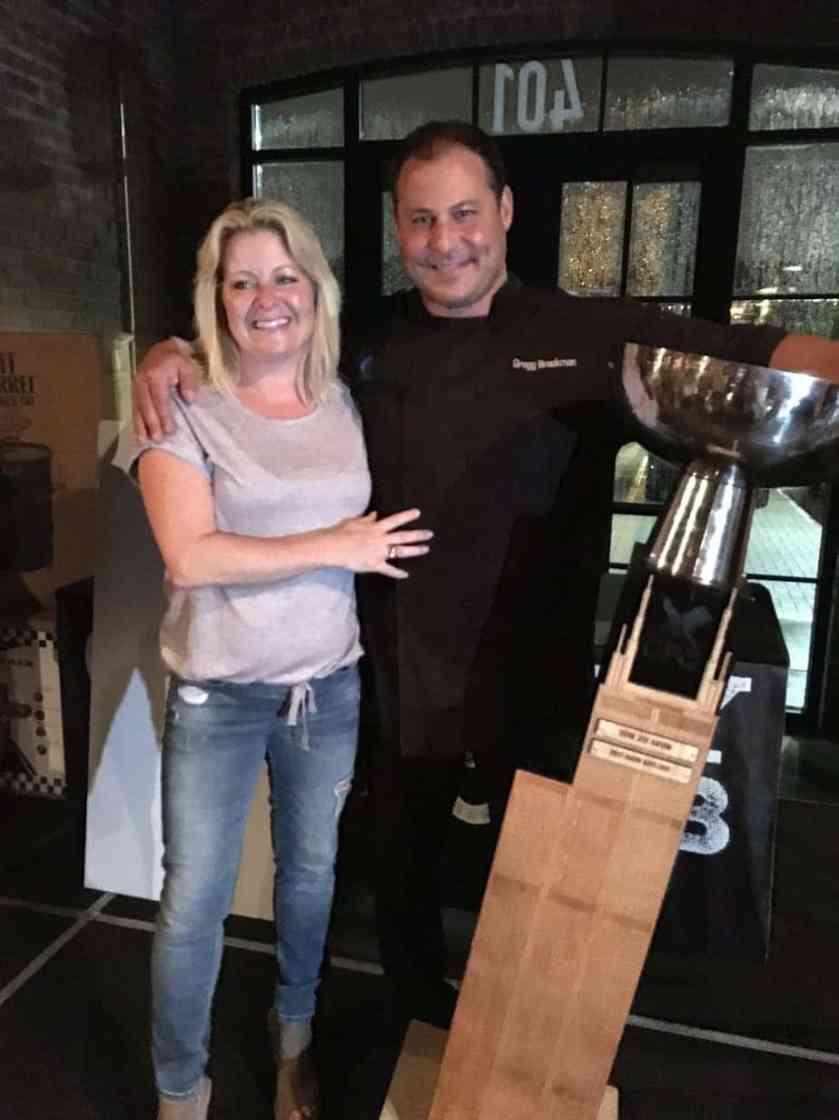 Final Plate Winner Chef Gregg Brackman