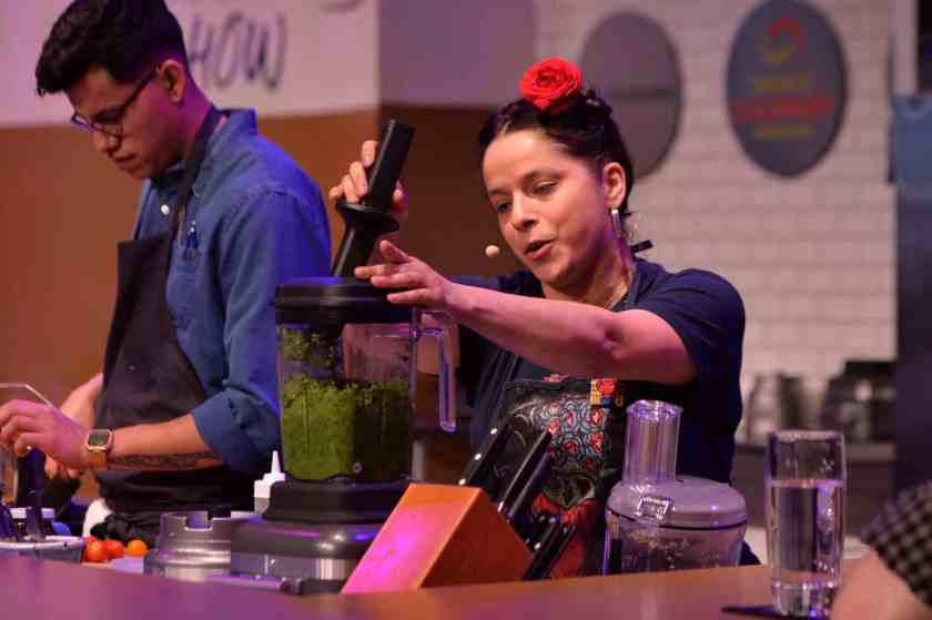 Chef Diana Davila at the National Restaurant Association Show