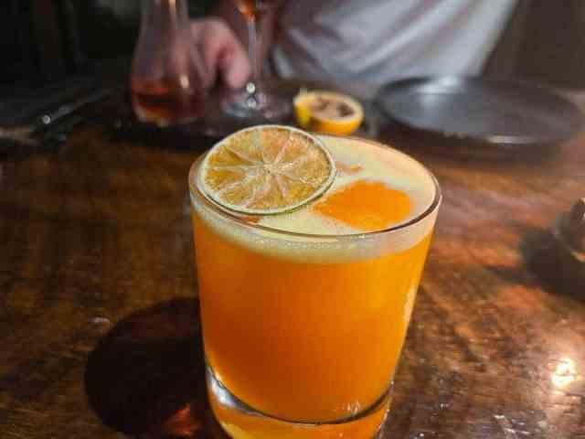 cocktail from Principle Food & Drink in Kalamazoo, Michigan