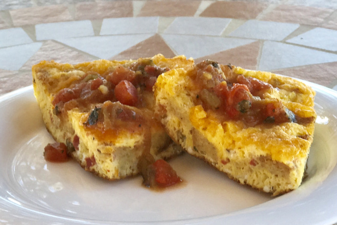 Flo's New Mexico Frittata