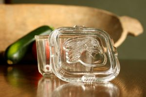 Federal Glass Square Refrigerator Dish
