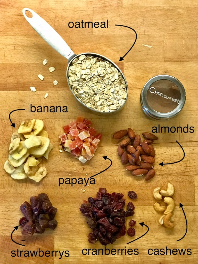German Muesli Ingredients