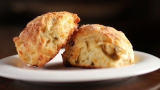 New Mexico Green Chile Cheese Scones