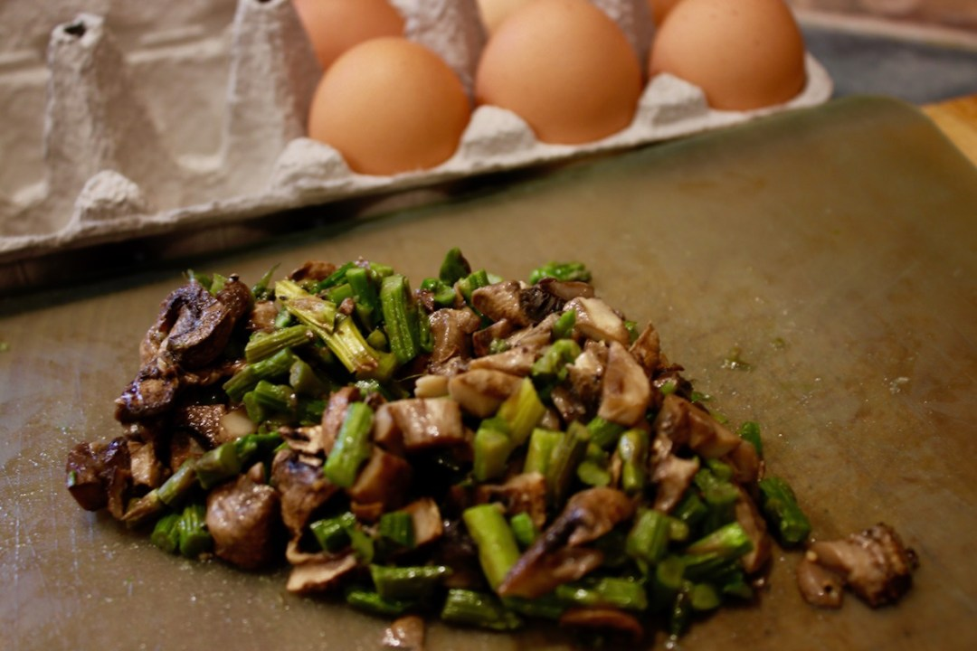 AsparagusMushroomFrittataIngredients