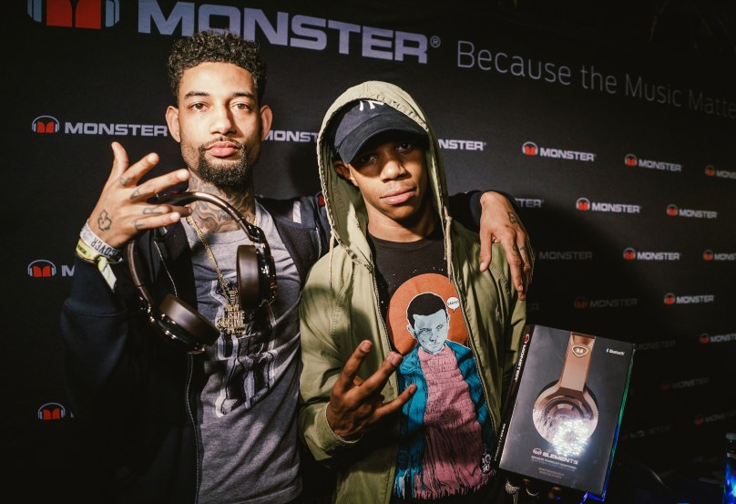 A Boogie Wit Da Hoodie and PNB Rock Stop By Monster Gifting Suite – SXSW Takeover Day 2
