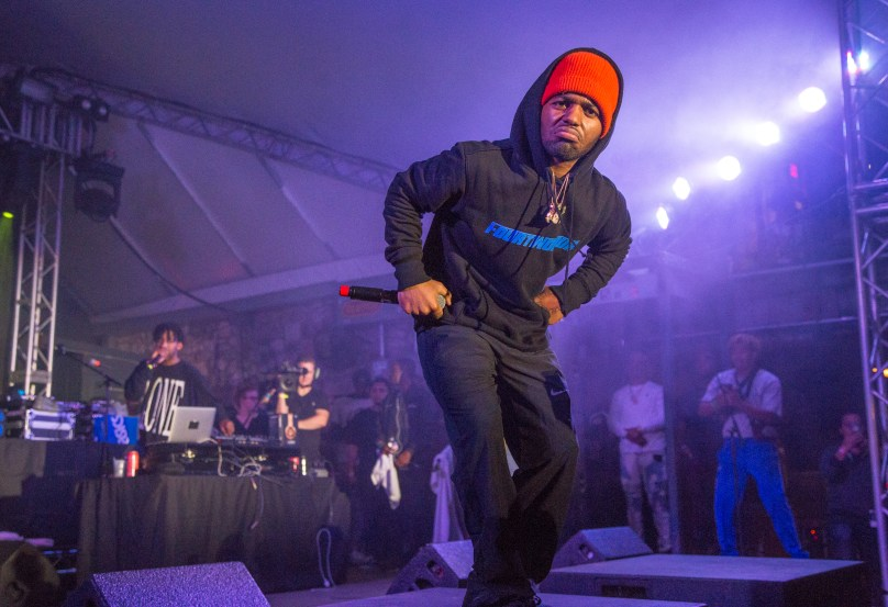 MADEINTYO On Stage At Mass Appeal's Live At The BBQ Stage – SXSW Takeover Day 2