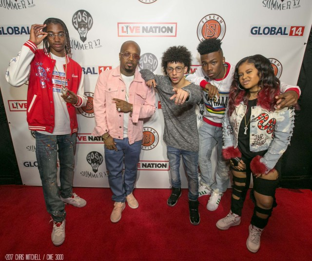Mani_ JD_ J.I._ Lil Key_ Nia Kay 03.22.17 SoSo Summer 17 Tour Press conference Top Golf Atlanta 012 135th ST Agency photo by Chris Mitch-CME3000