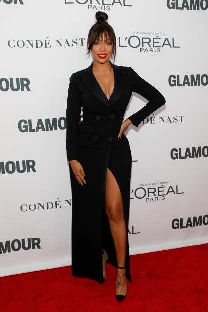 La La Anthony Turns Heads in Moschino at Glamour Women of The Year Awards