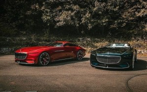 Mercedes Benz Maybach 6 Coupé and Cabriolet