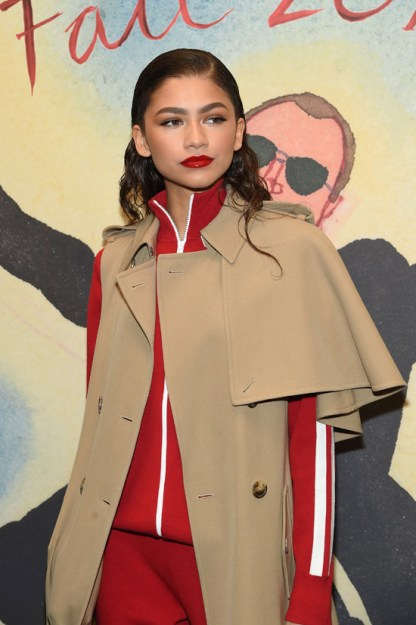 Zendaya Looks Runway Ready in Michael Kors at Michael Kors #NYFW Show – Pics Here!