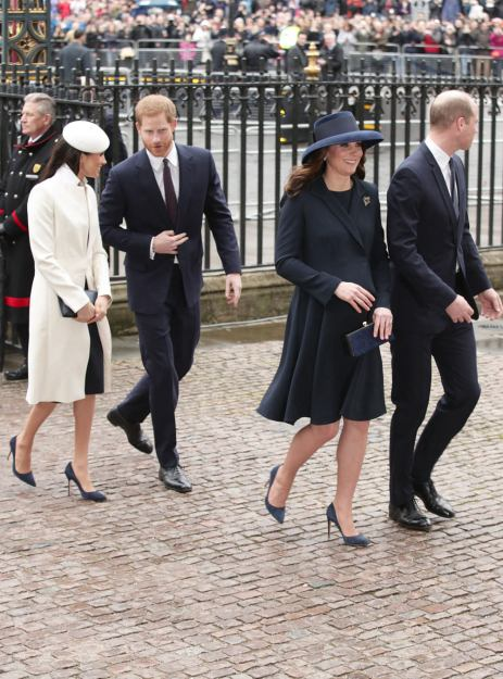 The Royal Family in Their Sunday Best – See Pics Here!