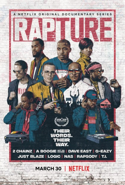 Rapture a Netflix Documentary Series ft. Nas, Dave East, T.I. & More – Watch Trailers Here!