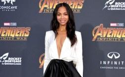 """Avengers: Infinity War"" L.A. Premiere Zoe Saldana, Angela Bassett, Vin Diesel, Robert Downey Jr., & Others – Red Carpet Pics Here!"