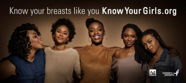 """Vanessa Bell Calloway, June Ambrose, Regina Hall, Alicia Keys & More Support Susan G. Komen's """"Know Your Girls"""" Campaign – Details Here!"""