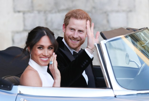 Meghan and Prince Harry aka The Duke and Duchess of Sussex After the Wedding Pics – View Here!