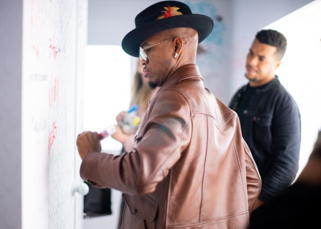 Ne-Yo and Diggy Simmons Attend Life Coach Launch In NYC – Pics Here!