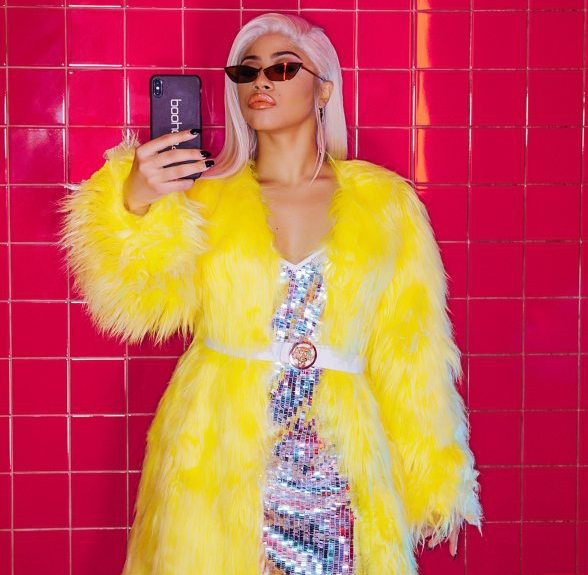 View Cardi B's Sister Hennessy Carolina's Fashion Campaign Debut Photos Here!
