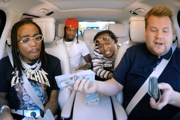 "Video Migos In ""Carpool Karaoke"" with Over $200,000 Cash – Watch Here!"