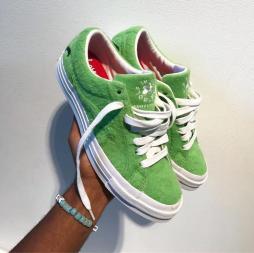 Tyler, The Creator x Converse Debuts Grinch Le Fleur Sneakers – Pics + Details!