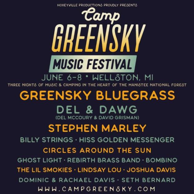 Greensky Bluegrass // Camp Greensky Music Festival Returns June 6-8 :: Line-Up Announcement!!