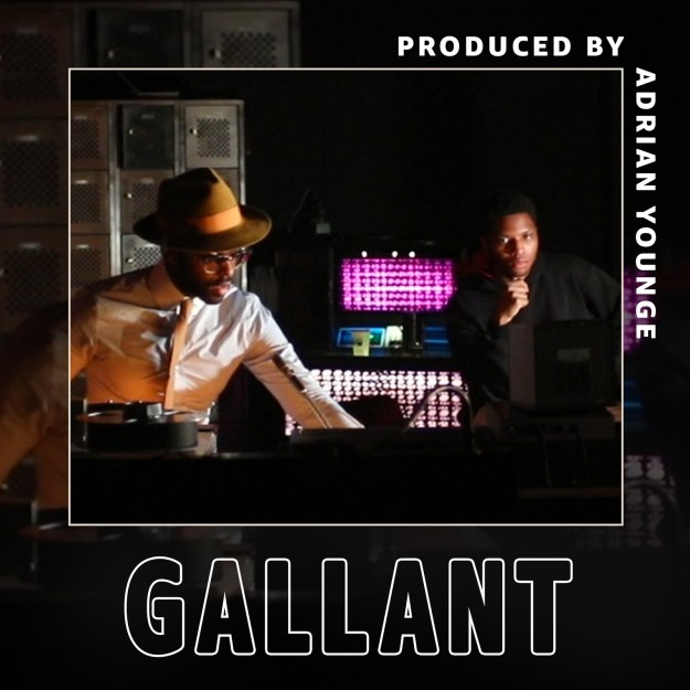 "Gallant Releases Amazon Original ""Strobe Lights"" Produced By Adrian Younge For Amazon Music's ""Produced By"" Series"