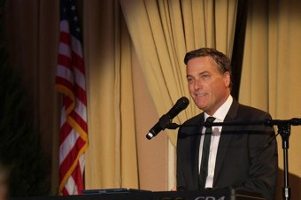 Michael W. Smith performs at 107th Annual First Lady's Luncheon
