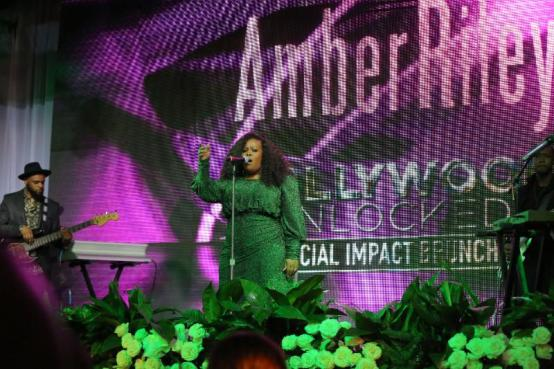 Amber Riley slays Beyoncé's 1 +1 and Lauryn Hill's Ex-Factor