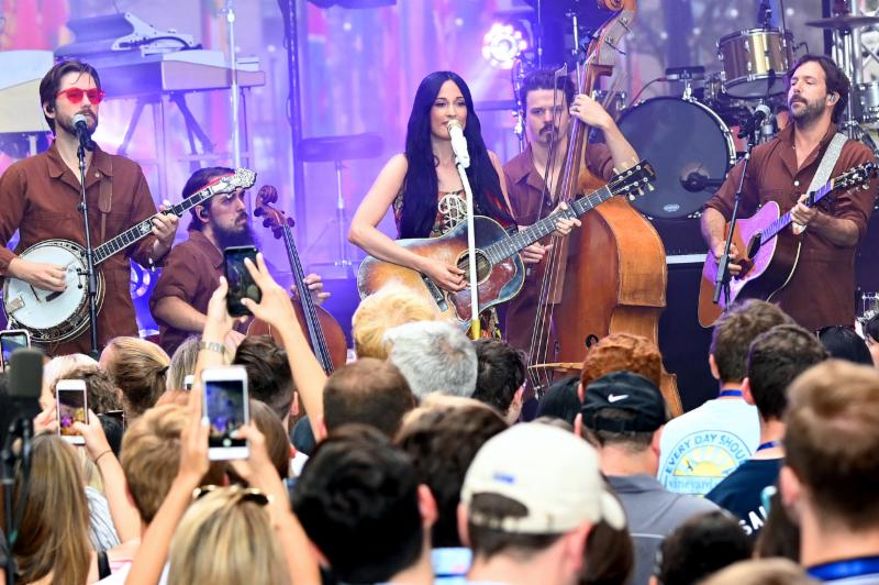 Kacey Musgraves performs onstage during Citi Concert Series On TODAY Presents Kacey Musgraves at Rockefeller Plaza on July 19, 2019 in New York City-2