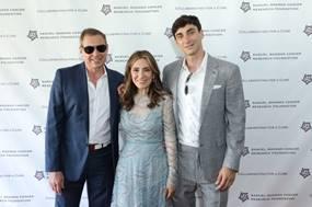 Kenneth Fishel, Maria Fishel and Bradley Fishel ©Patrick McMullan