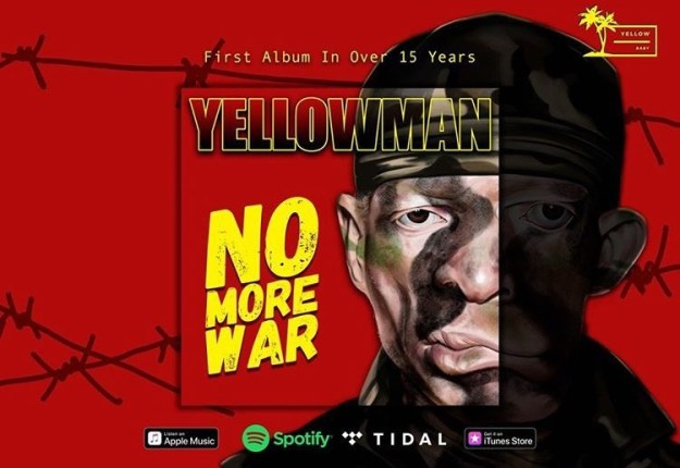 "Yellowman's drops new album ""No More War"""