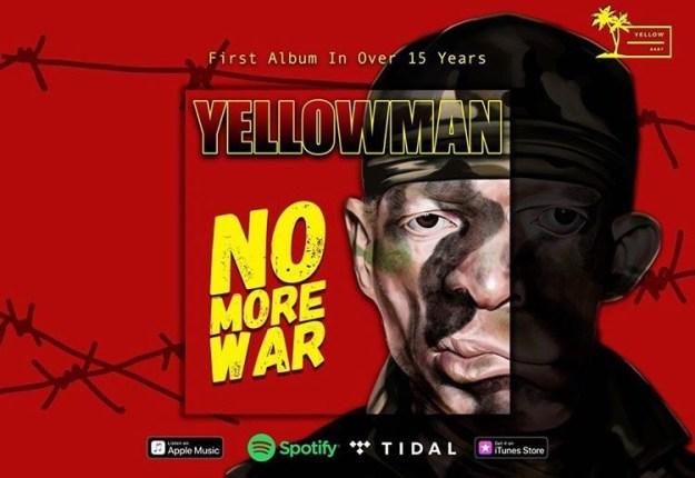 """Yellowman's drops new album """"No More War"""""""