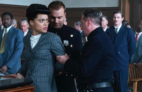 Billy Holiday arrestted